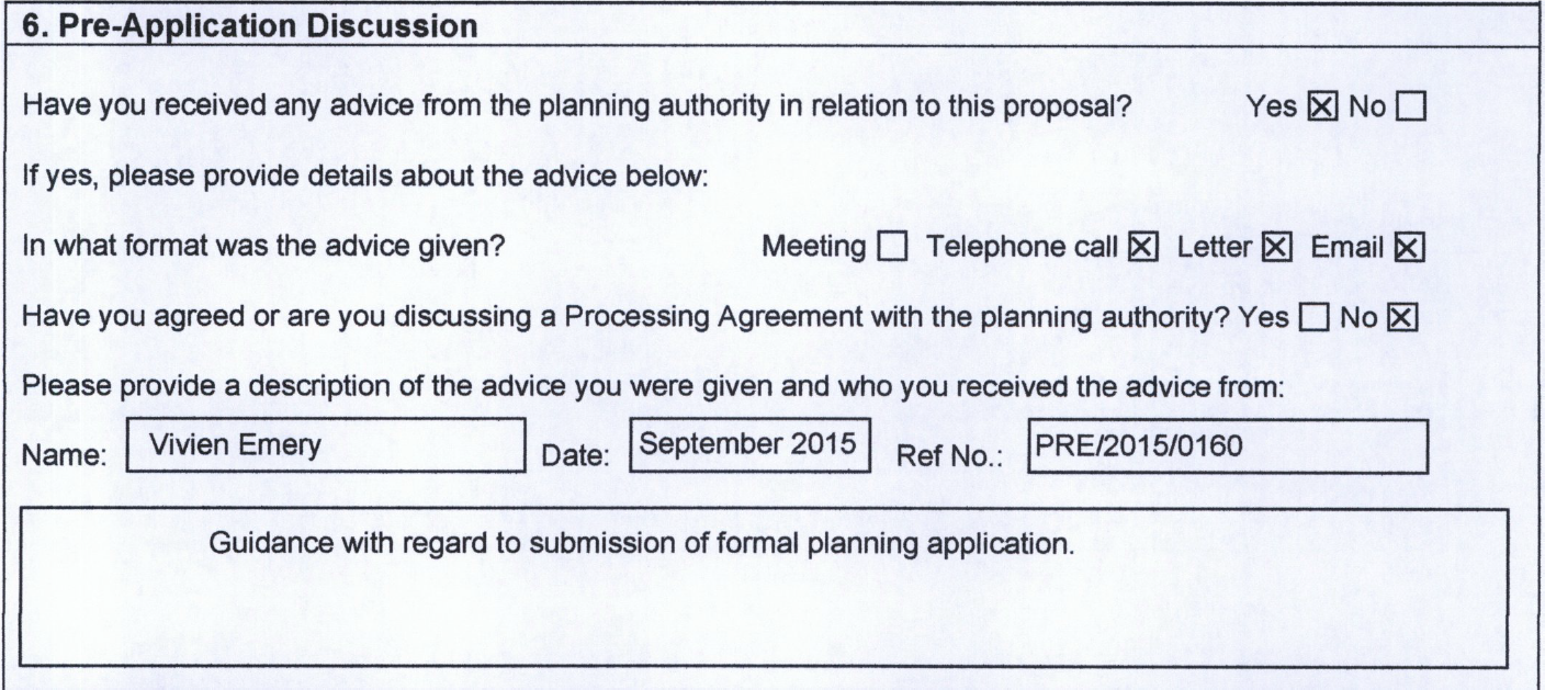the ledard farm campsite planning application and conflicts of second and i believe significant the application shows that that lltnpa staff provided pre application advice to cllr wood back in 2015
