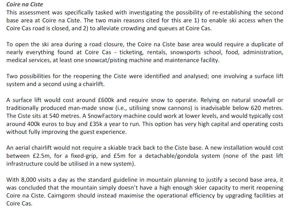 HIE's latest vision for Cairn Gorm - how to chuck £27m down